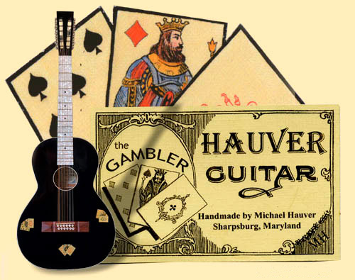 Hauver Guitar Gambler handmade in Sharpsburg MD