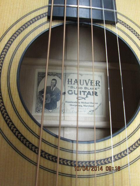 Hauver custom guitar rosette