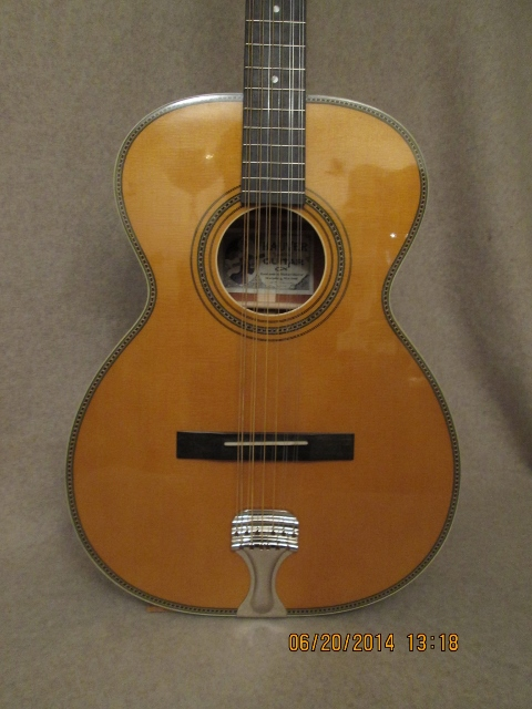 Hauver Guitar Leadbelly custom vintage