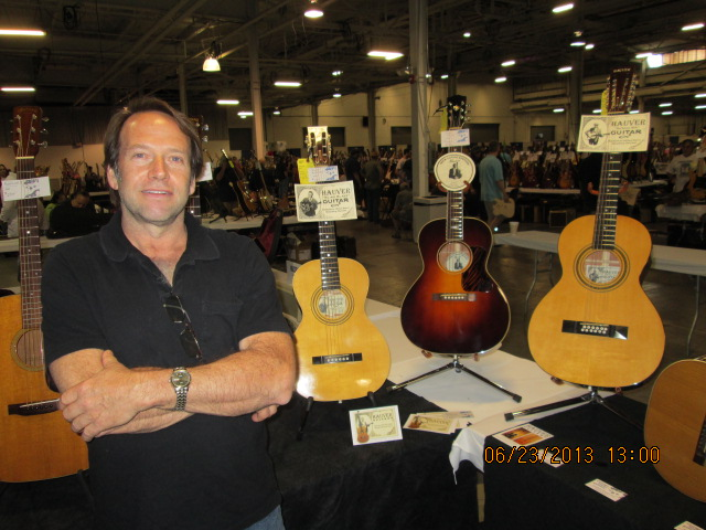 Michael Hauver at Guitar Showcase