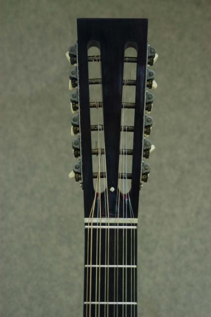 Hauver Guitar Holzapfel custom tuning pegs