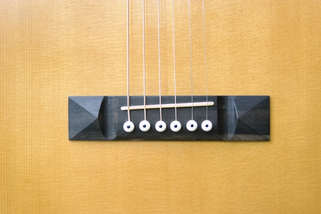 Hauver Guitar 12 String Auditorium custom bridge