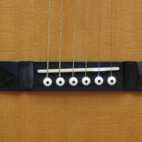 Hauver Guitar Blind Blake custom bridge