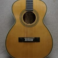 Hauver Guitar 12 String Auditorium custom vintage