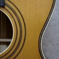 Hauver Guitar Blind Blake custom purfling and rosette