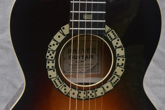 Hauver Guitar Domino Rosette