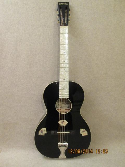 Hauver Guitar Gambler custom vintage