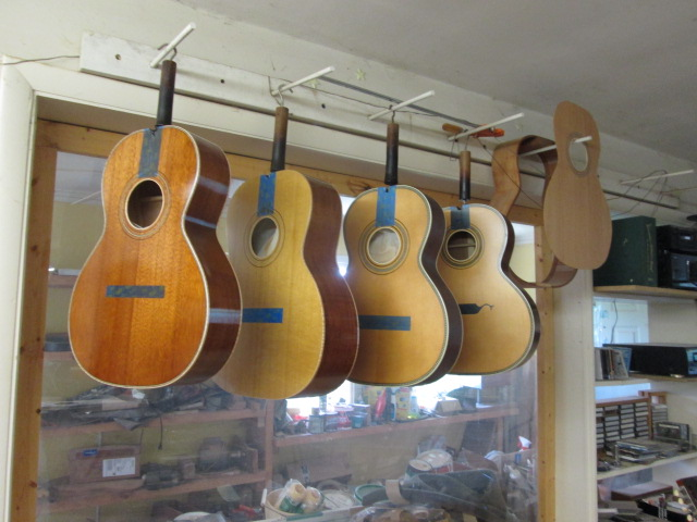 Hauver Guitar handmade vintage in shop