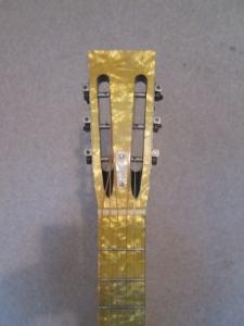 Hauver Gambler concert guitar