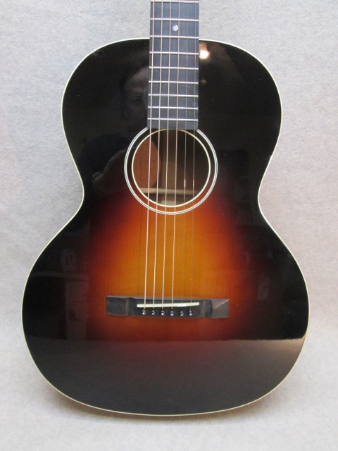 Hauver Guitar Sunburst Galiano Gambler